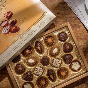 £7.66 甜蜜价入手精致巧克力礼盒Lindt 瑞士莲巧克力 甜食诱惑挡不住