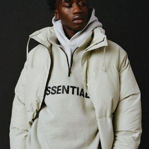 $110收晒货同款灰白卫衣手慢无:F.O.G Essentials 冬季最后一波补货 高领卫衣$135