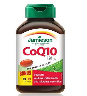$14.24(原价$24.97)Jamieson 辅酶Q10胶囊120mg 60颗