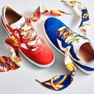 $375+免费速递 独一无二的专属款Stuart Weitzman 限定Darly运动鞋热卖 自主搭配设计