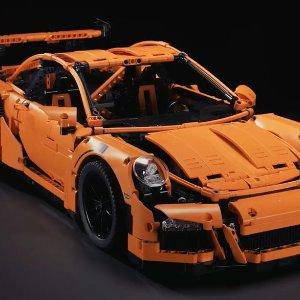 $340.38(原价$470.99)绝版限量款LEGO 科技旗舰款 保时捷911(共计2704片)