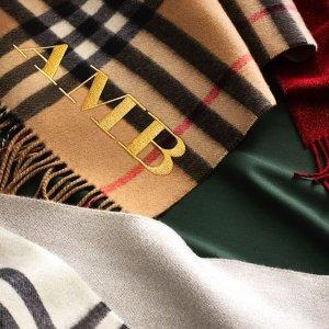 低至5折 经典围巾$210Burberry 折扣区围巾、衬衣热卖