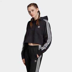 Adidas短款卫衣