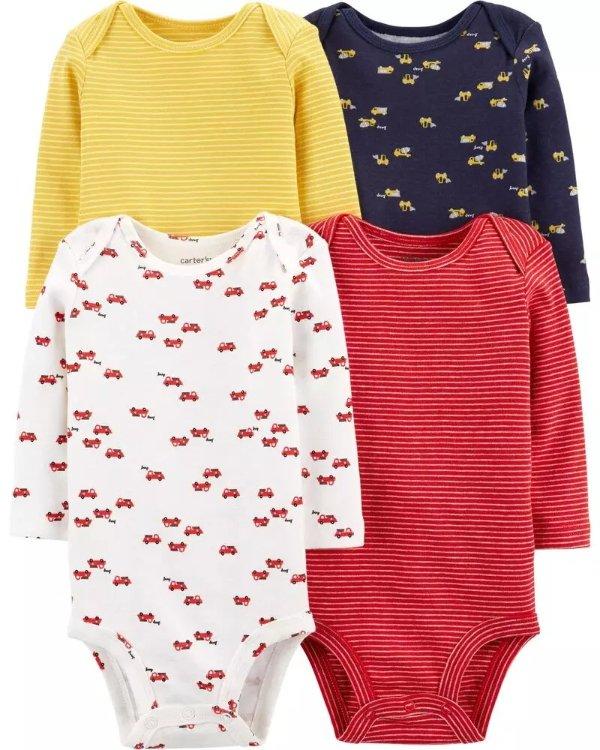 婴儿基础包臀衫4件套
