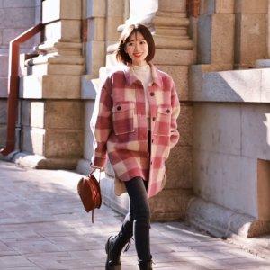 Isabel Marant Etoile羊毛格纹夹克