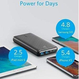 现价€29.99(原价€49)Anker 20000mAh充电宝 特价 支持PowerIQ和USB Type-C