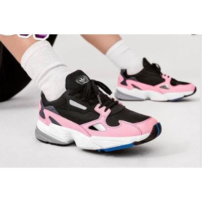 低至5折 十余款配色选你喜欢Adidas Falcon 女鞋官网大促