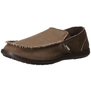 CrocsMen's Santa Cruz Loafer | Casual Comfort Slip On | Lightweight Beach or Travel Shoe