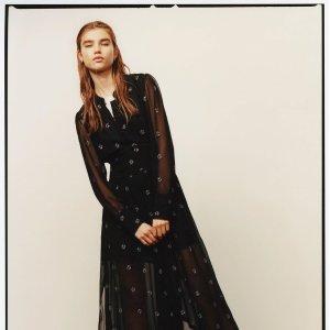 全场7.5折+汇率优势!£88收经典小黑裙上新:AllSaints 春季折扣美裙专区 搭配靴子正合适 酷酷女孩也温柔