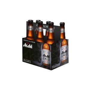 Asahi啤酒6瓶装