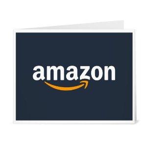 送$15Amazon 购买$50礼卡促销,限新用户