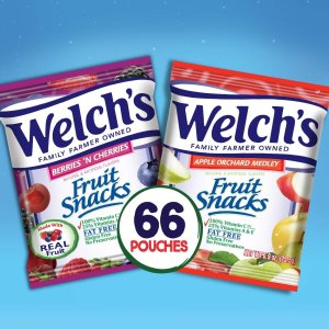 $8.73 + Free ShippingWELCH'S Apple Orchard Medley and Berries 'n Cherries Fruit Snacks, 0.9oz., 66 Count