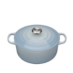 Le Creuset铸铁锅 24cm/4.2l Coastal Blue