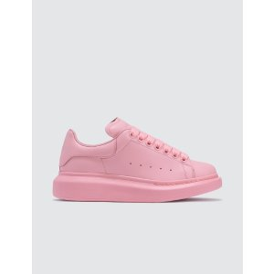 Alexander McQueen粉色厚底鞋