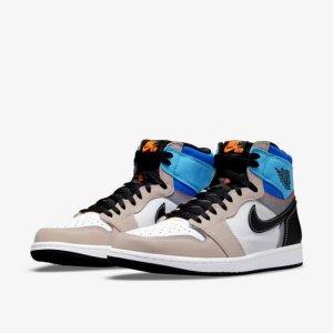 """9月30日下午6点!定价$240预告:Nike Air Jordan 1 """"Prototype"""" 彩色拼接 鞋帮可剪裁"""