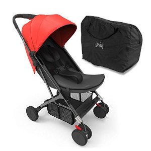 Jovial Portable Folding Baby Stroller (Red)