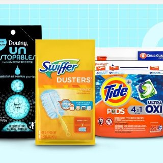 20% OffSelect Tide, Downy, and Swiffer Products