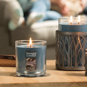 Up to 75% off + 6 for $60 Large CandlesSemi-Annual Sale @ Yankee Candle