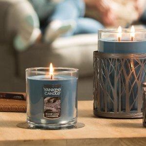 低至2.5折 +大号蜡烛6个$60Yankee Candle 全场香氛蜡烛年终特卖