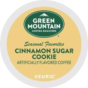 Green Mountain Coffee肉桂糖霜饼干口味咖啡胶囊 24个