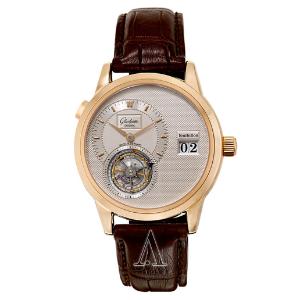 Dealmoon Exclusive: GLASHUTTE PanoMaticTourbillon Men's Watch 93-01-01-01-04