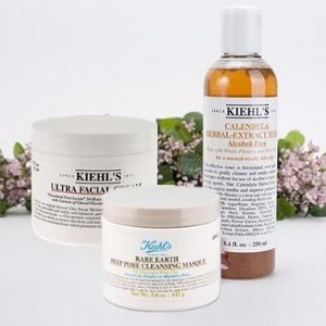 Enjoy 4 deluxe samples & limited edition canvas pouch Best Seller Products @ Kiehl's