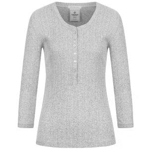 Timberland女式长袖T恤 灰色