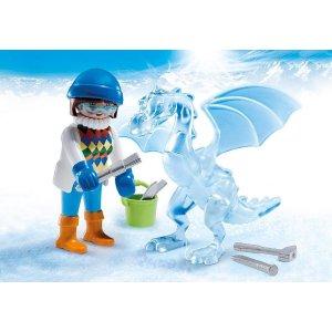 Playmobil冰雕艺术家