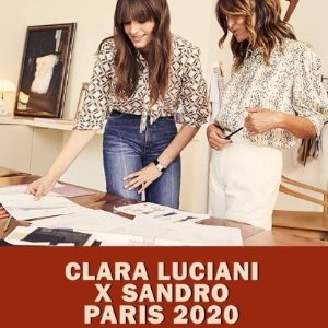 法国音乐界女神的超赞审美Sandro X Clara Luciani 2020限量联名款上线 收优雅法式美衣