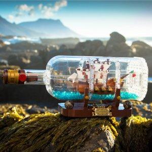 $69.99 Ship in a Bottle 21313 @ LEGO