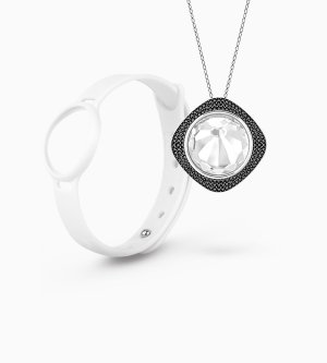 55% Off! only $108 (reg. $249)on Swarovski Fitness Tracker Set @ Misfit