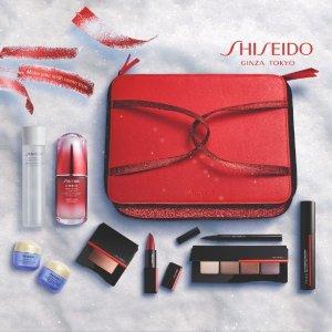 Shiseido7件正装!价值£327!2020 限量大礼包