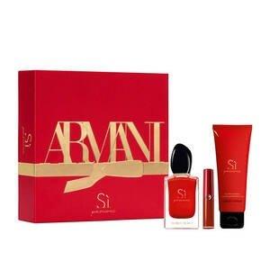 Giorgio ArmaniSi香氛+身体乳+唇釉400