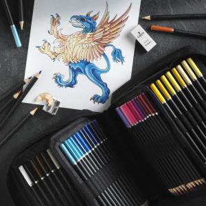 72色折后€23.99 原价€39.99Castle Art 彩色铅笔 高质量 高性价比 宅家消磨时间必备