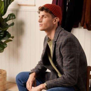 无门槛9折 折扣区也参加H&M 精选休闲时尚男装抢鲜热卖