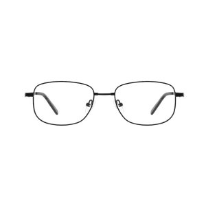 Black Bendable (Memory) Titanium Full Rim Frame #212021 | Zenni Optical Eyeglasses