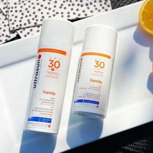 无门槛7折 €17收抗衰防晒Ultrasun 林允、娜扎推荐的瑞士专业防晒 美白抗衰老全年必备