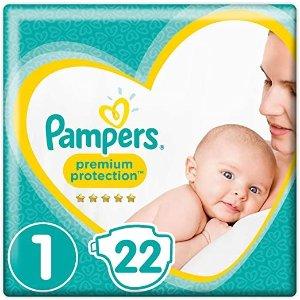Pampers纸尿裤 2-5kg宝贝使用(22抽)