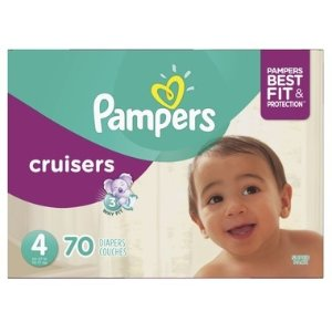 Pampers需用码PAMPERS5好动宝宝纸尿裤 3-6号 52-84个量贩装