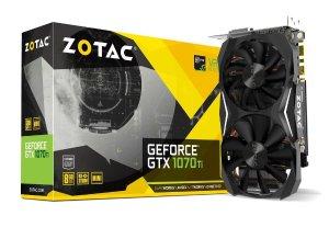 $469.99 无税包邮ZOTAC GeForce GTX 1070 Ti MINI 8GB 紧凑型游戏显卡