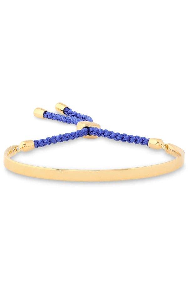 Blue Fiji 18-karat 友谊手链