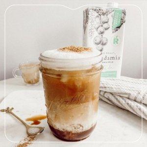 8.3折 $4.99收Milkadamia植物奶有机咖啡伴侣 杏仁奶、燕麦奶 自制低卡奶茶 乳糖不耐友好