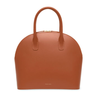 Mansur Gavriel Rounded Calf Leather Tote Bag
