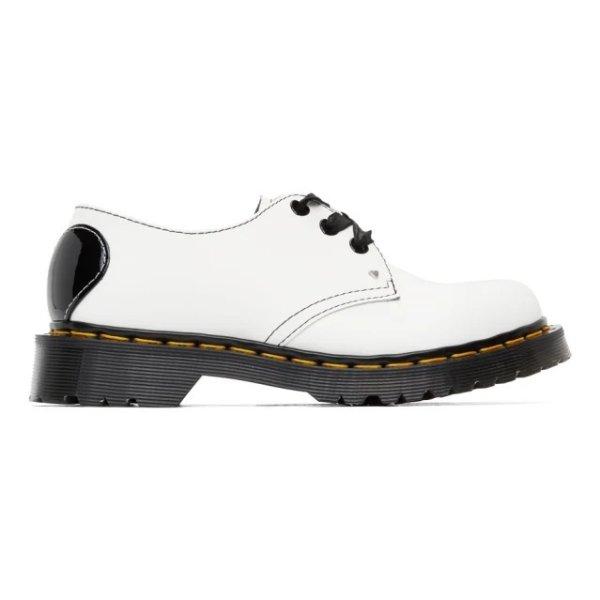 1461 白色牛津鞋