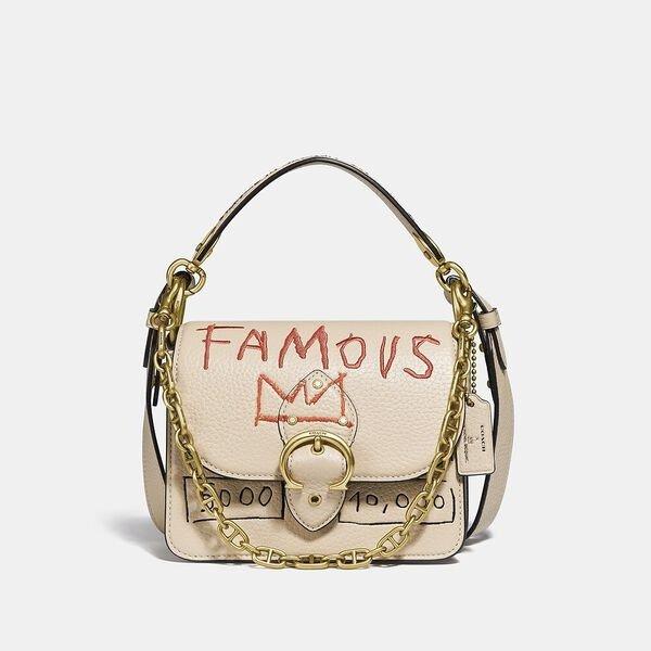 X Basquiat 皇冠涂鸦复古包