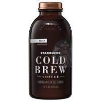 Starbucks 玻璃瓶装 冷萃含糖黑咖啡 11oz 6瓶