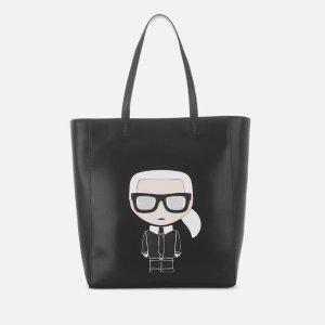 Karl Lagerfeld老佛爷logo托特包
