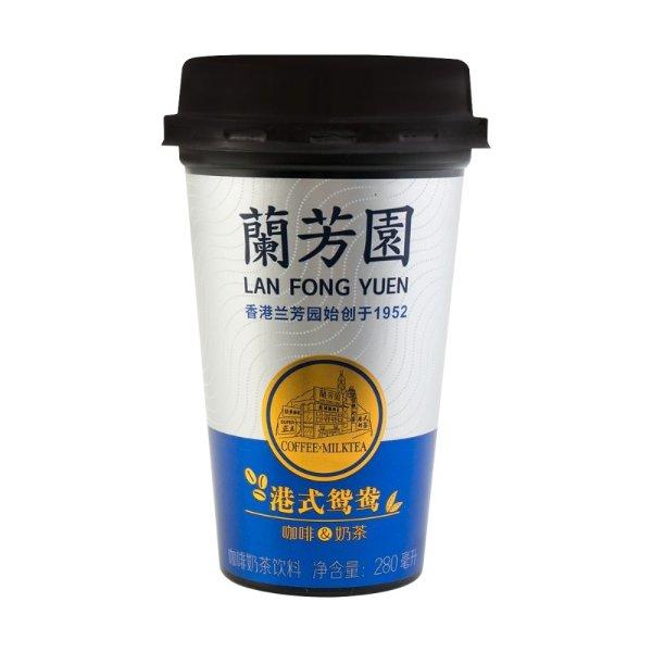 兰芳园 正宗鸳鸯咖啡奶茶 280ml