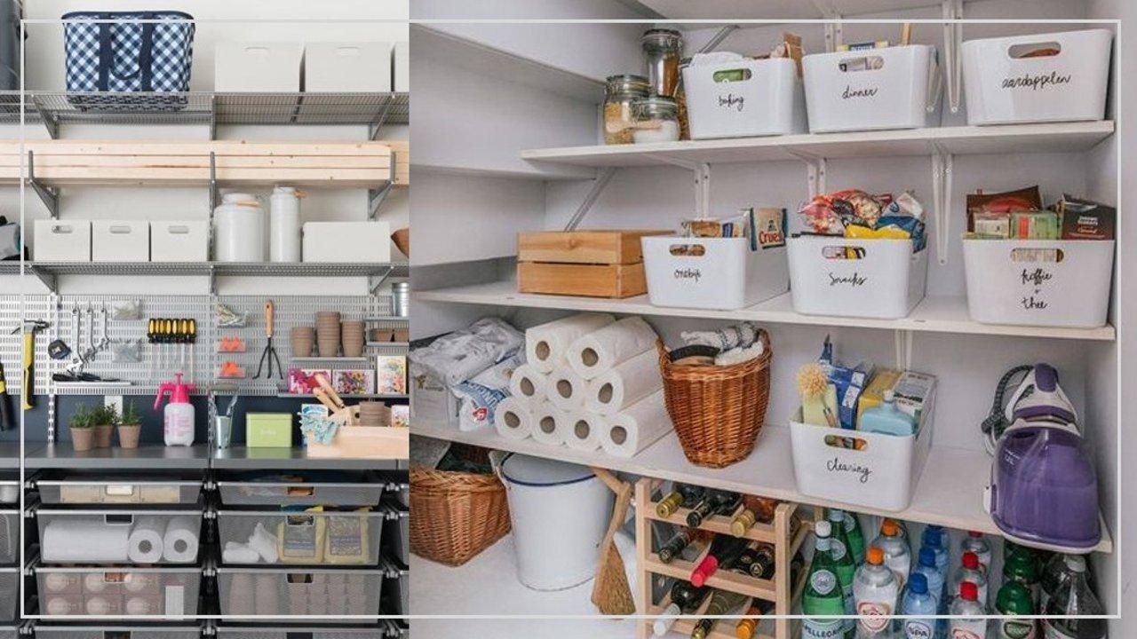 打造完美储物间 | 空间规划 、布局思路、收纳选材