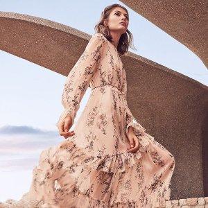 低至3折 £65收蕾丝连衣裙Reiss 折扣专区热卖中 收英伦风气质美衣